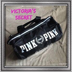New! Victoria Secret black duffle bag